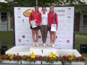 Liepājniecēm uzvara Latvijas III Olimpiādes tenisa sacensībās
