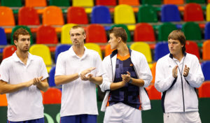 Latvian team to Tunisia with Gulbis, Juska and brothers Podzus