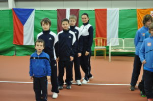 Latvian team takes 4th place at Europe Winter Cup