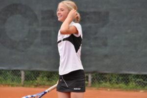 Rebeka Mertena successfully represents Latvia