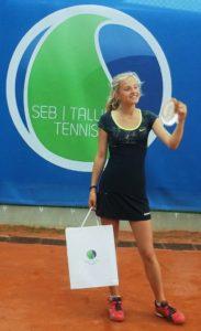 Rebeka Mertena iegūst otro vietu turnīrā Tallinā