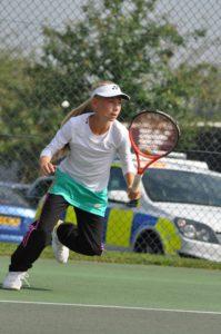Mārupe Tennis School prize of August for groups U12, U14