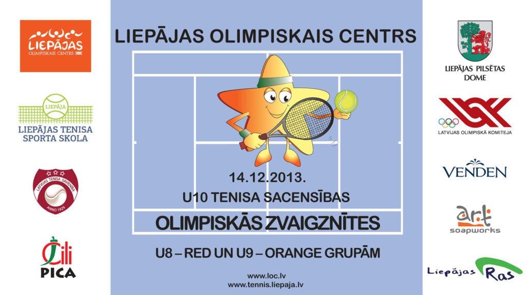 "U10 tennis competition ""The Olympic stars"""