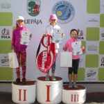 Four prizes in Mini tennis to Liepaja