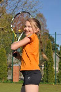 Four prizes in Mini tennis to Liepaja