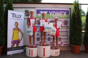 """Liepaja Tennis Sports school and Yonex International Prix"" for U12 age group finished"