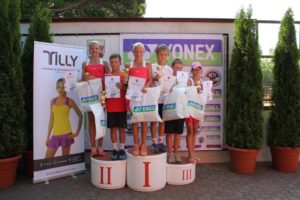 """Liepaja Tennis Sports school and Yonex International Prix"" for U12 age group finished"