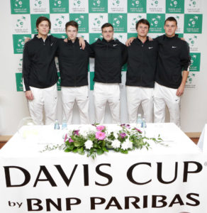 "Determined game schedule in Davis Cup match ""Latvia – Bulgaria"""