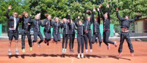 Liepāja Tennis Sports school woman team wins gold in Latvia!