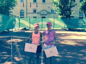 Patrīcija Špaka veiksmīgi piedalās divos Tennis Europe turnīros
