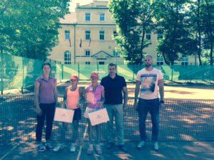 Patrīcija Špaka has good success at two Tennis Europe tournaments