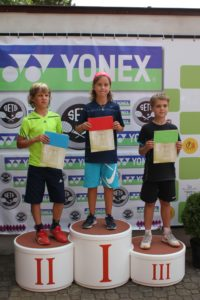 Liepājniekiem panākumi Yonex turnīros