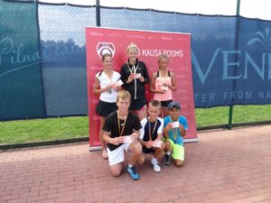 Our students get all three medals at 8th leg of LTU cup for U12