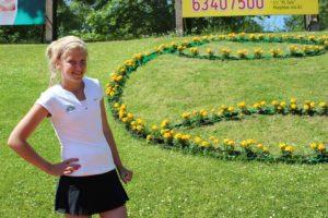Three students participate at ITF Juniors