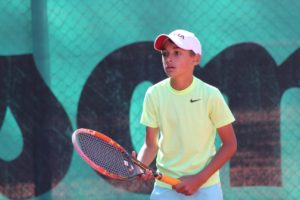 In Tennis Europe tournament in Siauliai – gold medal