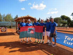 Liepaja Tennis Team returned from European Senior Club Championship