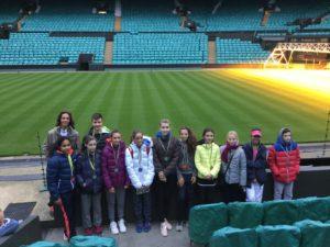 Patricija Spaka returns from Tennis Europe tournament in Great Britain