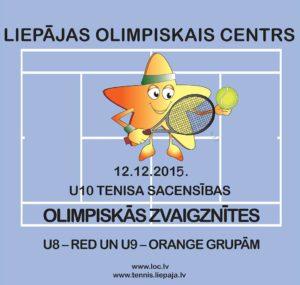 U10 tournament in tennis – Olympic Stars 2015