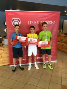 Two golds and one silver in LTU cup leg
