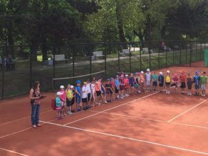 Intense games for the young tennis players in Liepaja