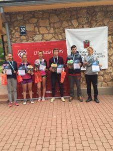Good success for Liepaja tennis players