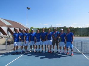Liepaja 35+ team already 4th time in a row wins Latvian team championship