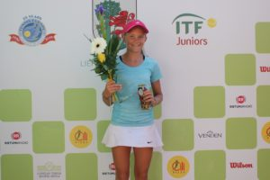 In Liepaja has concluded Tennis Europe tournament for U12