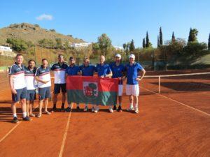 Return from European club team championship