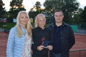 Interview with our student Patrīcija Špaka and her parents