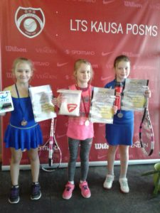 From Jelgava with Gold, two Silvers and one Bronze
