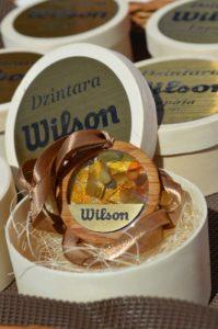 "Thanks to ""Dzintara Wilson"" (Amber Wilson) supporter SIA ""Intrad"""
