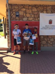 In 6th leg of LTU cup – 2nd and 3rd place