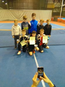 New tennis players from Liepaja dominates in Ventspils