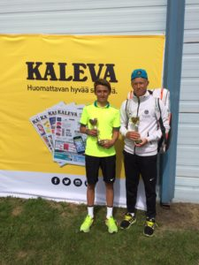 Valerijs Vorobjovs returns from Finland with gold in doubles