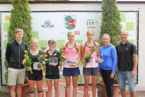 "Tennis Europe ""Liepaja International tournament 2017"" for U14 has concluded"