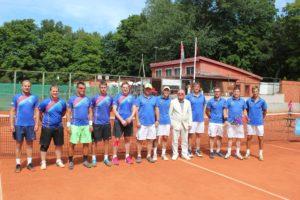 Liepāja senior tennis team for 5th year in a row triumphs in Latvian club team championship