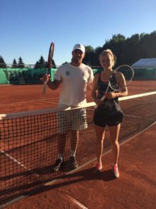 Rebeka Margareta Mertena receives 1st WTA ranking point