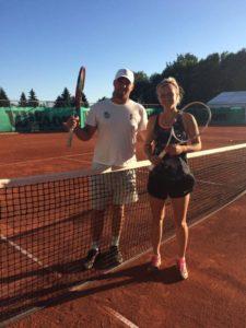 Rebeka Margareta Mertena receives 1st WTA ranking point
