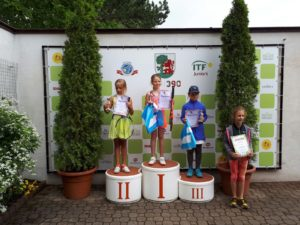 Babolat Prix for U8 and U9 age groups in Liepaja has concluded