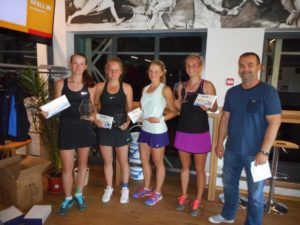 Rebeka Margareta Mertena takes double victory at ITF Juniors in Tallinn