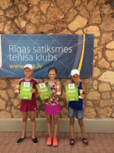 New Liepaja tennis players have good success