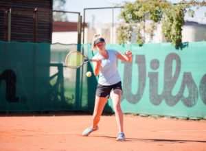 Patrīcija Špaka and Elza Tomase competes in ITF Juniors tournament in Lithuania