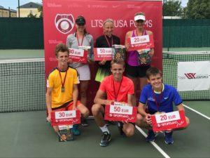 Liepaja tennis players gets medals at LTU cup leg