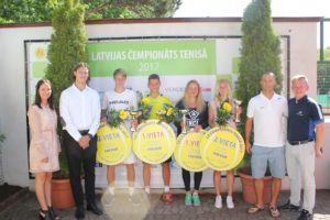 Latvian adult championship has concluded, Rebeka Mertena almost gets absolute victory