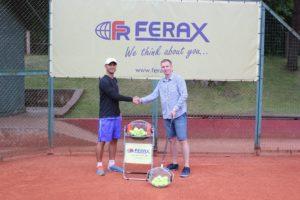 """Ferax"" gifts innovative equipment to Liepaja Tennis Sport school"