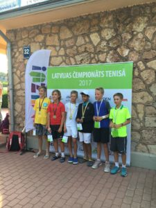 Our Students takes few medals in Latvian Junior championship, Rebeka Margareta Mertena takes double victory