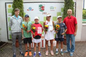 "In Liepāja has concluded Tennis Europe ""Liepaja International Tournament U12"""