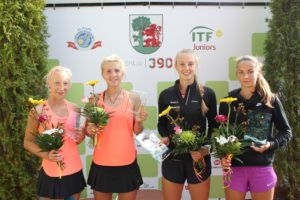"With our student victory the ITF Juniors ""Venden Cup Liepaja 2017"" has concluded"