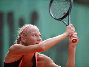 "In ITF Juniors ""Riga Open"" our Patrīcija Špaka takes 2nd place"