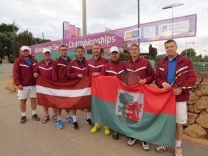 Liepaja tennis senior team has the best result till now in European championship